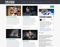 Blog Masonry - Gym WordPress Theme