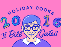 Bill Gates' Book Recommendations Animation