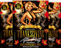 Thanksgiving After Party - Flyer + Facebook Cover