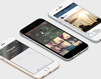 Instagram App Design