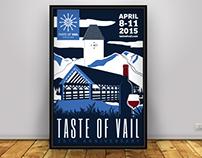 Taste of Vail 2015 •Branding