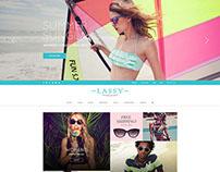 WordPress Theme for Eyewear Sunglass Store - WP Glory