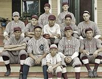 COLORIZATION: 1926 Baseball Team (2012)
