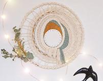 Mimosa, round weaving
