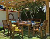Garden of Love - Outdoor Kitchen design