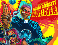 Kool Keith Presents Tashan Dorsett Album Illustration