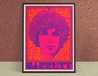Syd Barrett Poster