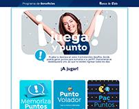 Juegos html5 - Banco de Chile