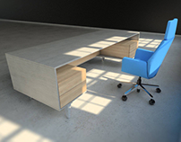 Innamos Executive Desk