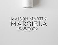 Campaña Gráfica Maison Martin Margiela