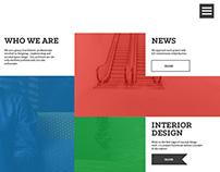 KC space design - Web design