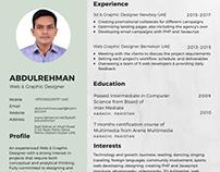 CV_of_Syed_Abdulrehman_Mujtaba 2017