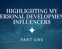 Highlighting My Personal Development Influencers Pt. 1