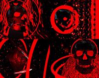 Skull & Heart - VJ Loop Pack (5in1)