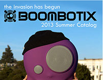 Boombotix: Catalog Design