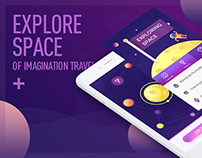 Explore space of imagination