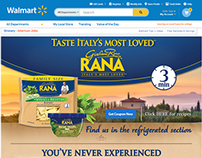 Giovanni Rana Digital Activation