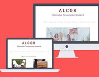 Alcor, migration et intégration de site web