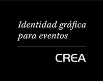 Identidad gráfica para eventos