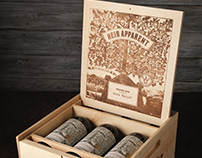 Heir Apparent (Grand Napa Vineyards) Wooden Box Design