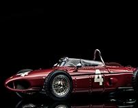Ferrari Dino 156 Sharknose Phil Hill Belgian GP 1961