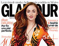 Sophie Turner Glamour Magazine Mexico