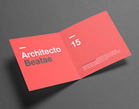 Square Bi-Fold / Half Fold Brochure Mock Up