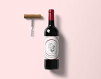 Tante Nel / Wine Label