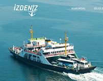 İzmir Deniz Ulaşım Taşımacılığı A.Ş. Güncel Arayüzleri