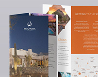 WIGWAM Resort - Brochure + Banner