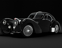 Bugatti Atlantic // 3D Rendering