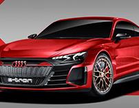 2020 Audi E-Tron GT Coupe