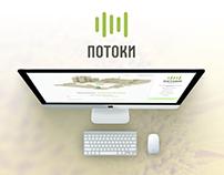 """Завод """"Потоки"""" дизайн сайта"""
