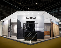 Stand design at Cevisama 2019 | Lioli