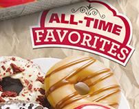 Krispy Kreme Favorites Poster