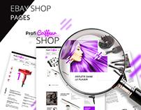 Ebay shop pages