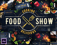 Cooking Delicious Food Show - After Effects Template