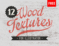 12 Free Wood Textures for Illustrator