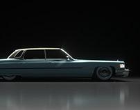 Cadillac Sedan De Ville 1975