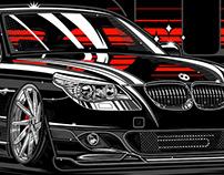 BMW M5 Illustration