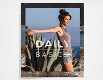 Daily Basics · Lookbook Summer · Catalogue
