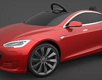 Tesla Model S for Kids | by Radio Flyer
