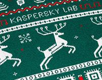 Sweater design for Kaspersky lab.