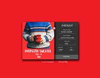 #DailyUI 002:Checkout Design