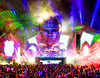 Q-dance at Tomorrowland & TomorrowWorld (Visuals)