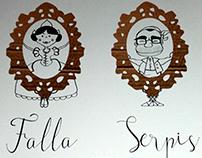 Llibret Falla Serpis