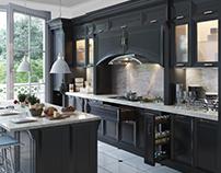 B&W Kitchen