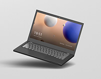 Laptop Screen Mockup 2