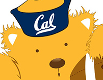UC Berkeley T-Shirt design - Rookie Bear