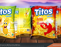 Packaging TITOS Snack